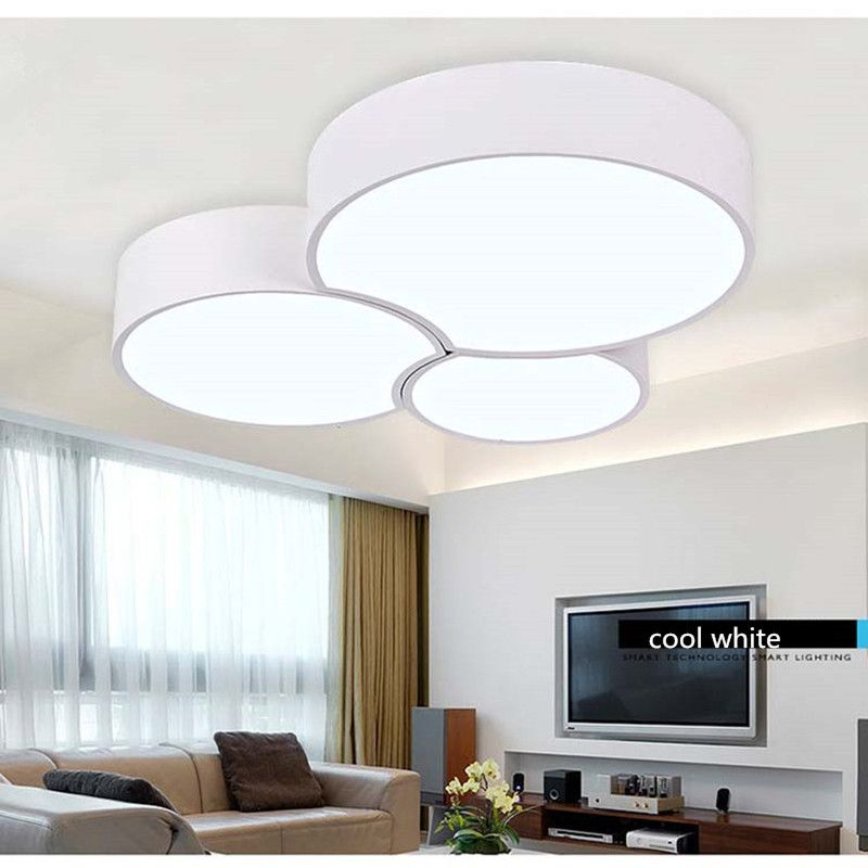 Contracted modern ceiling lamp free combination iron and acrylic LED light Hall Porch Lobby bar store decorate Light Fixture