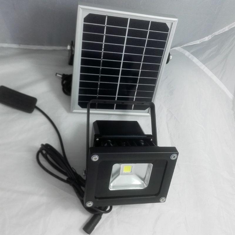 10 W solaire camping lumière maison lumière intérieure lumière LED lumière d'inondation