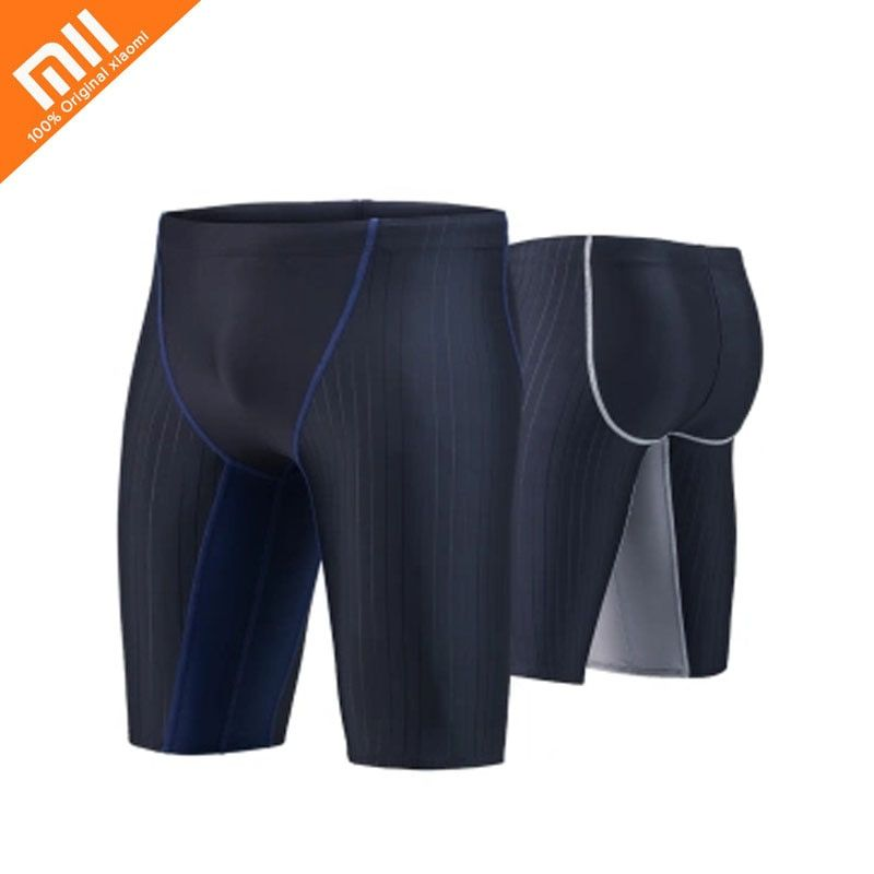Original millet men's five-point swimming trunks simple boxer shorts swimsuit swimsuit pants beach swimwear seaside essential
