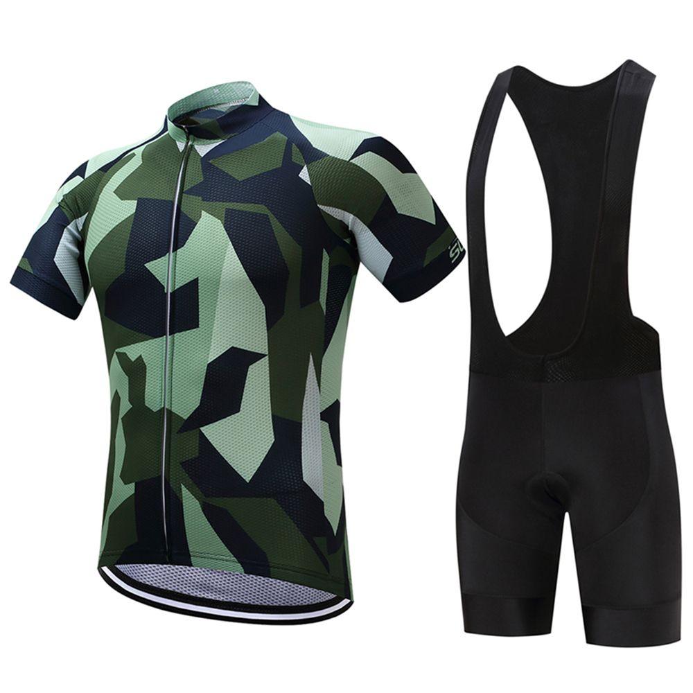 FUALRNY Pamela 2018 Quick-Dry Cycling Jersey Set 100% Polyester MTB Bicycle Clothing Set Verano Ropa Maillot Ciclismo