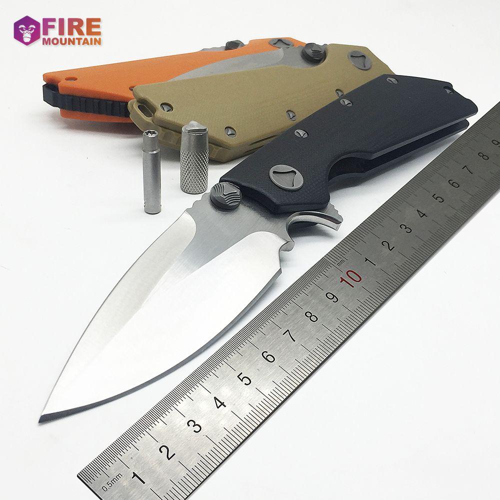 BMT DOC flip couteau pliant tactique 9Cr18Mov lame G10 poignée roulement à billes camping survie couteaux de poche chasse en plein air EDC