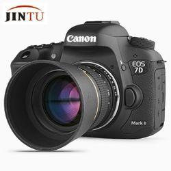 Jintu 85mm f/1.8 retrato asphérique enfoque manual teleobjetivo para Nikon D90 D80 D7200 D7100 D5400 D5500 d3400 D3300 D3200