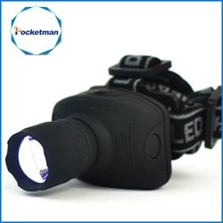 1800 светодиодный люмен налобный фонарь светодиодный фонарь фронтальный фонарь Zoomable Головной фонарь для езды на велосипеде лампа для кемпин...