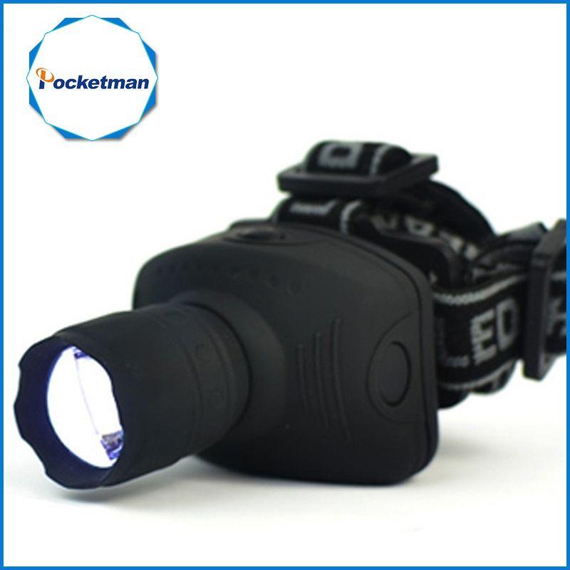 1800Lumen Headlamp LED Headlight Flashlight Frontal Lantern Zoomable Head Torch Light Bike Riding Lamp For Camping Hunting