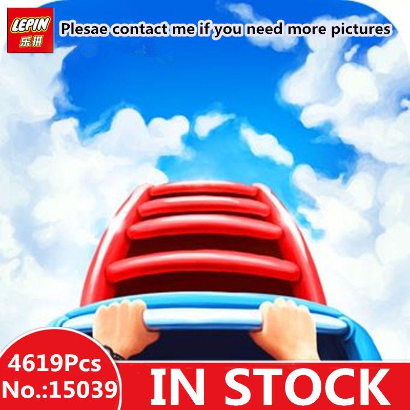 Lepin 15039 Die 10261 Roller Lustige Modell Coaster Set 4619 stücke Gebäude Serie Buidling Blöcke Ziegel Kinder Spielzeug Stadt Modell geschenke