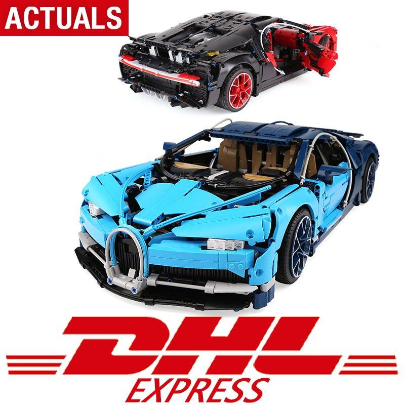 DHL Technic Toys 4031pcs Compatible with Legoing Technic 42083 Super Racing Car Model Building Blocks Bricks Toys For Kids Gifts