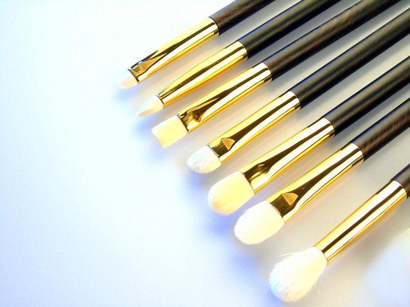 Mostarsea Marke Professionelle Ziegenhaar 7 stücke Make-Up pinsel set 8
