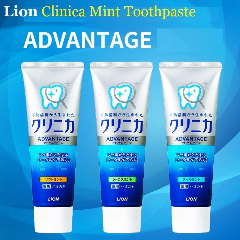 3 PCS Japon Lion Clinica Dentifrice À La Menthe Dentaires utilisation quotidienne Blanchiment Renforcer Les dents Enlever fumeurs taches saleté, peste mauvaise odeur