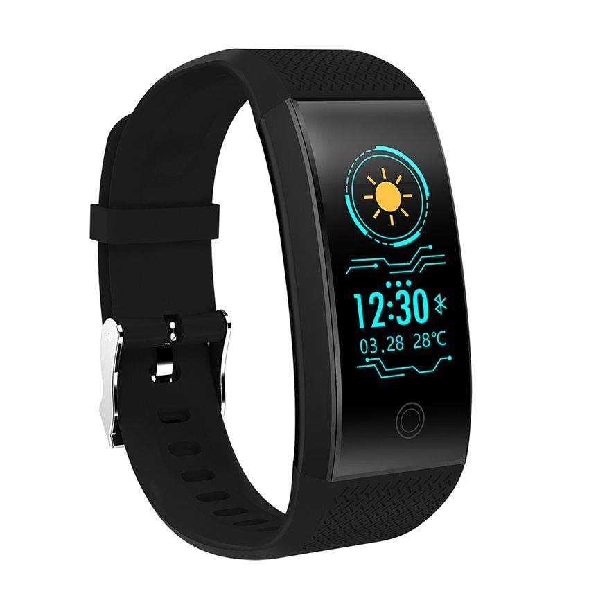 FROMPRO 18 Color Screen Smart Bracelet Heart Rate Monitor IP68 Waterproof Fitness Tracker Band Bluetooth 4.0 Sports Wristbands