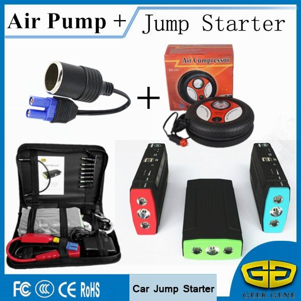 Car Jump Starter 68000mAh Portable Lighter Power Bank Diesel Petrol Starting Devcie Car Charger For Car Battery & Air Compressor