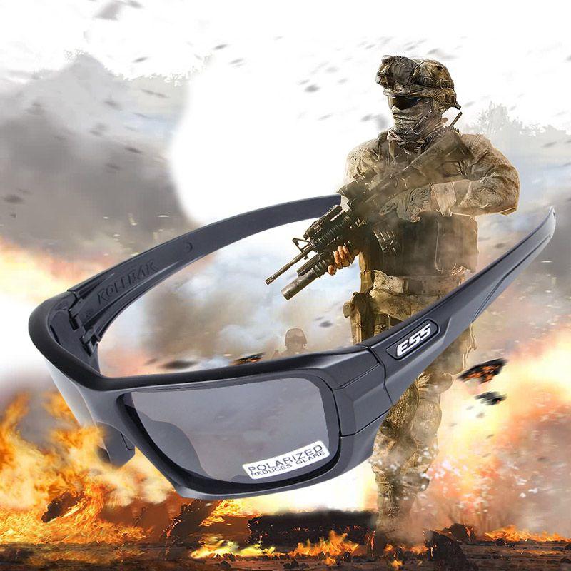 Polarized <font><b>Tactical</b></font> Sunglasses Military Glasses TR90 Army Goggles Ballistic Bullet-Proof Eyewear