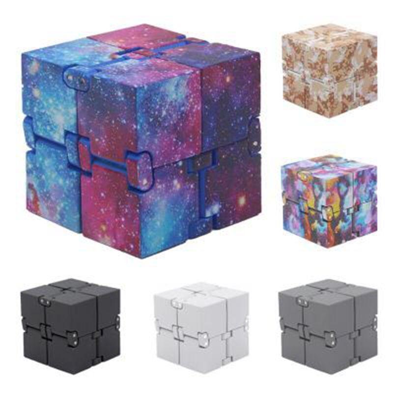 Infinite Cube Infinity Cube Magic Fidget cube Office flip Cubic Puzzle anti stress reliever autism toys