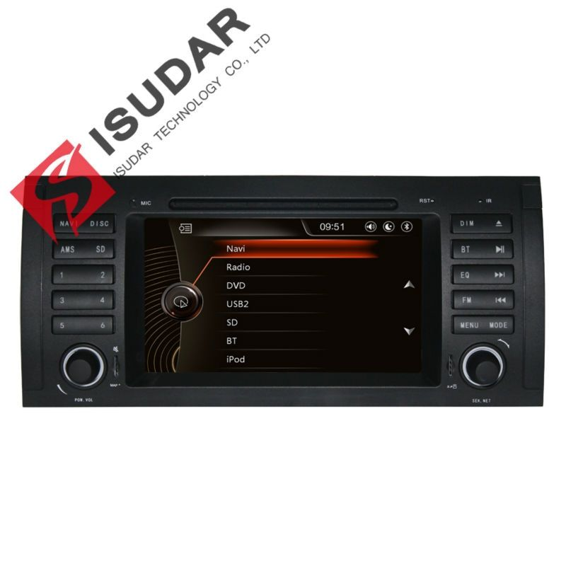 Capacitive Screen! 7 Inch Car DVD Player For BMW/E39/X5/M5/E38/E53 Canbus Radio GPS Navigation Bluetooth 1080P 3G Ipod Map