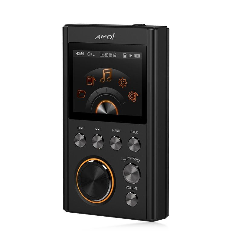 Amoi C20 DSD64 16GB Mini Sport MP3 Player 24Bit/192Khz Entry-level HiFi Lossless Portable Music Player High Quality DACWM8965