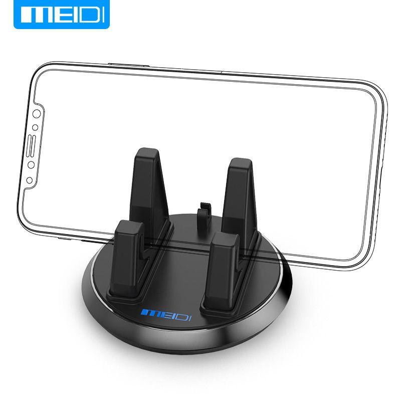 MEIDI Universel Souple En Silicone Mobile Support de Téléphone De Voiture Tableau de Bord GPS Anti Slip Mat Support De Bureau Support pour iPhone 5S 6 Samsung