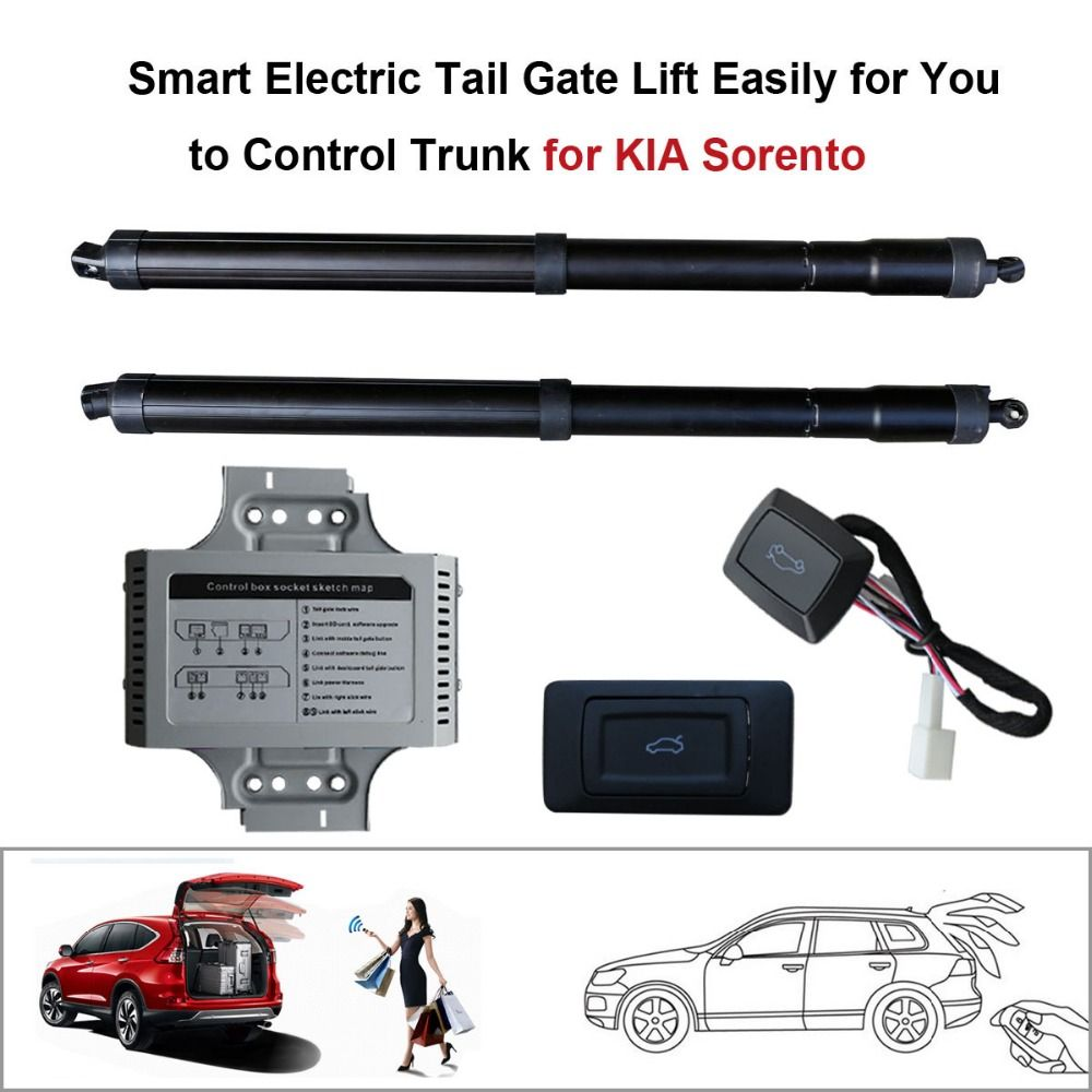 Smart Auto Electric Tail Gate Lift for KIA Sorento Control by Remote Drive Seat Tail Gate Button Set Height Avoid Pinch