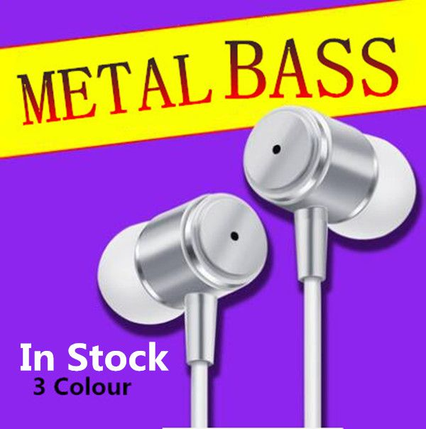 Hohe qualität Mode coole metallschale Supper Bass Kopfhörer Für IPhone 5 5 S 4 Samsung MP3 MP4 Xiaomi Sony