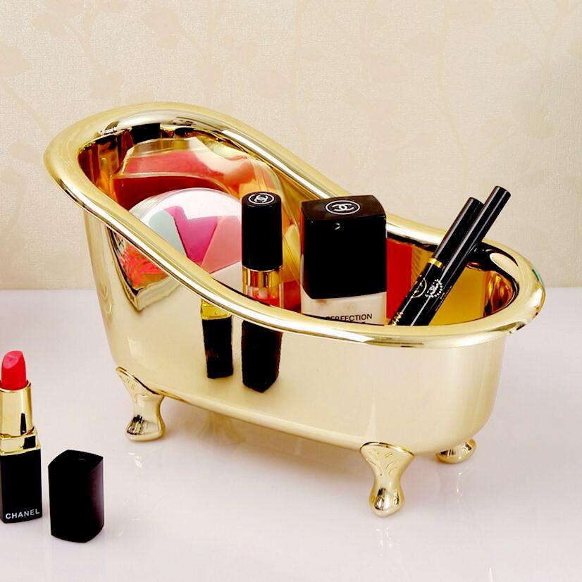 Haute qualité accessoires salle de bain mini baignoire blanc savon boîte de rangement brosse à dents dentifrice Induction boîte Snack boîte de rangement d5