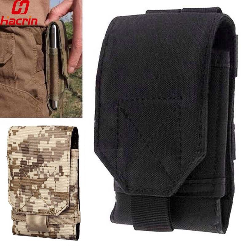 Outdoor Universal Phone Camouflage Bag Sport Pouch Belt Hook Holster Waist Case For Doogee T5 For Blackview BV6000 BV9000