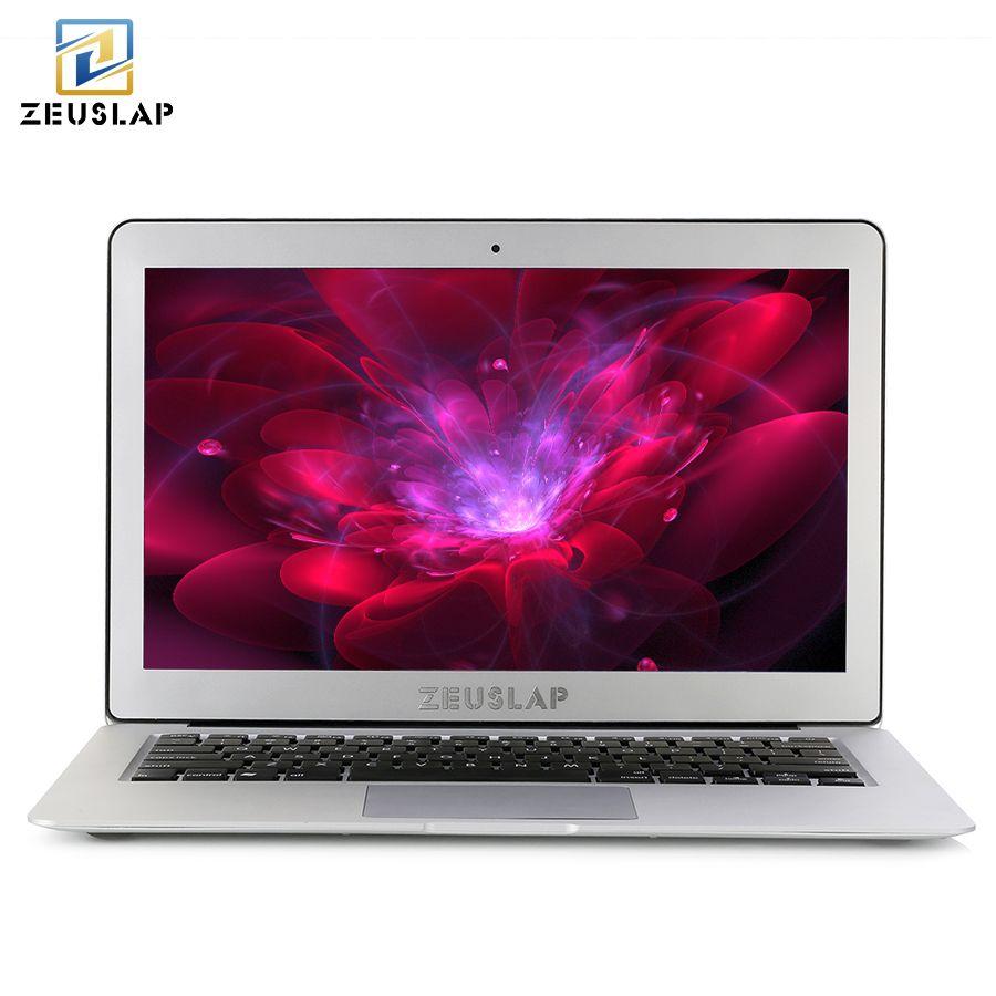 ZEUSLAP 13.3inch Intel Core i5 CPU 8GB ram 128GB ssd Windows 10 Pro 1920X1080P ips FHD Fast Run Laptop Notebook Computer