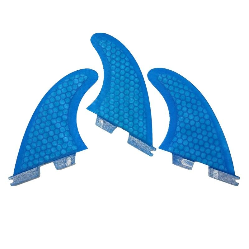 Surf Fins FCSII G5 M Size Surfboard Honeycomb Fins blue FCS 2 Fin Hot Sell FCS II Fin Quilhas