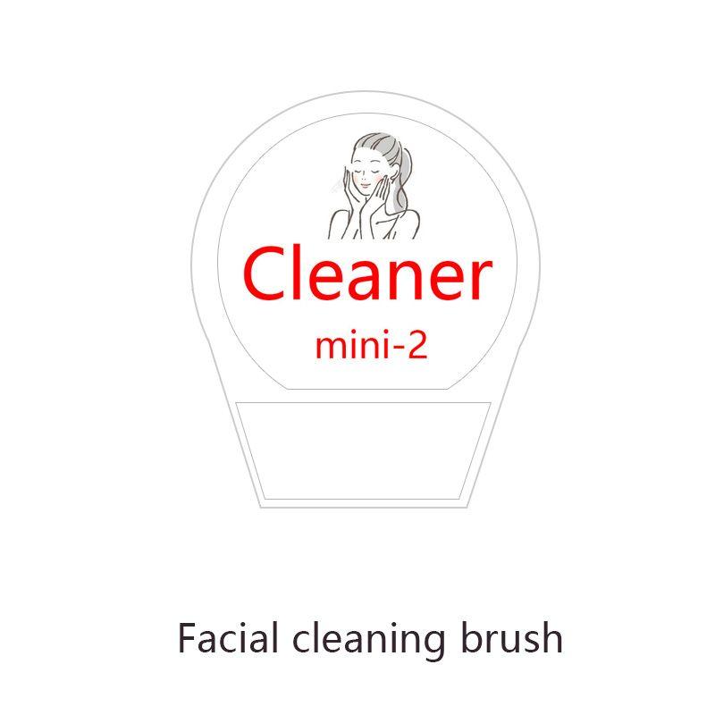 Instrument de nettoyage des pores du visage électrique instrument de nettoyage points noirs acné brosse douce petite amie copines cadeau de noël Mini 2
