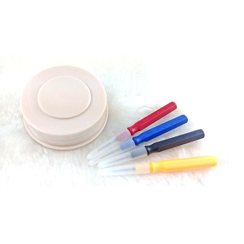 RP P0010 последние часы масленка инструменты комплект 4 шт. смотреть масленка контакты + 1 чашка масла инструменты для Часовщик