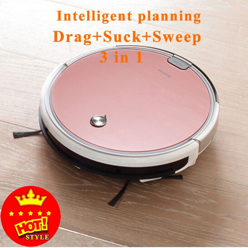2017 Hot Sale Original 2 in 1  X620 Smart Robot Vacuum Cleaner Cleaning Appliances 300ML Water Tank Wet Clean free shipping