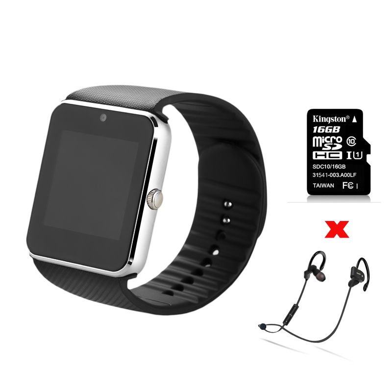 ZAOYIMALL Bluetooth mens smart watch GT08 wearable devices support SIM TF Card for iphone xiaomi Android Phone pk u8 dz09