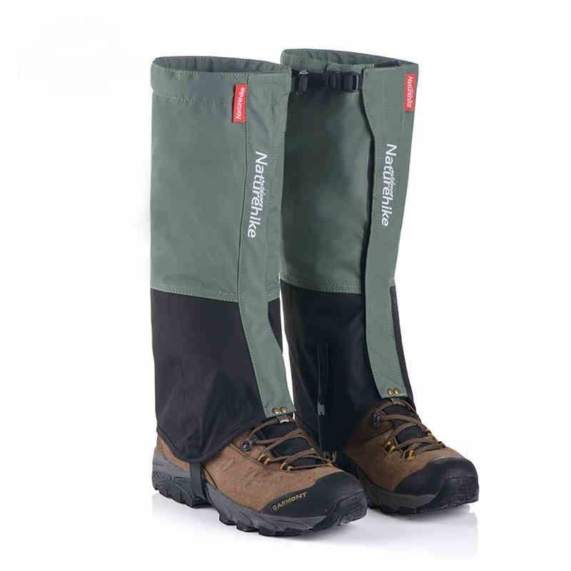 Professional Man Waterproof Nylon Fabric Gaiters Woman Hiking Walking Climbing Skiing Trekking Thin <font><b>Ultra</b></font> Light Gaiter L M 165g