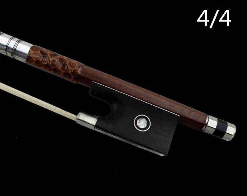 V88 High quality violin bow Size 4/4 violino Red sandal wood Bow Horse hair violin accessory bow accessories para violino
