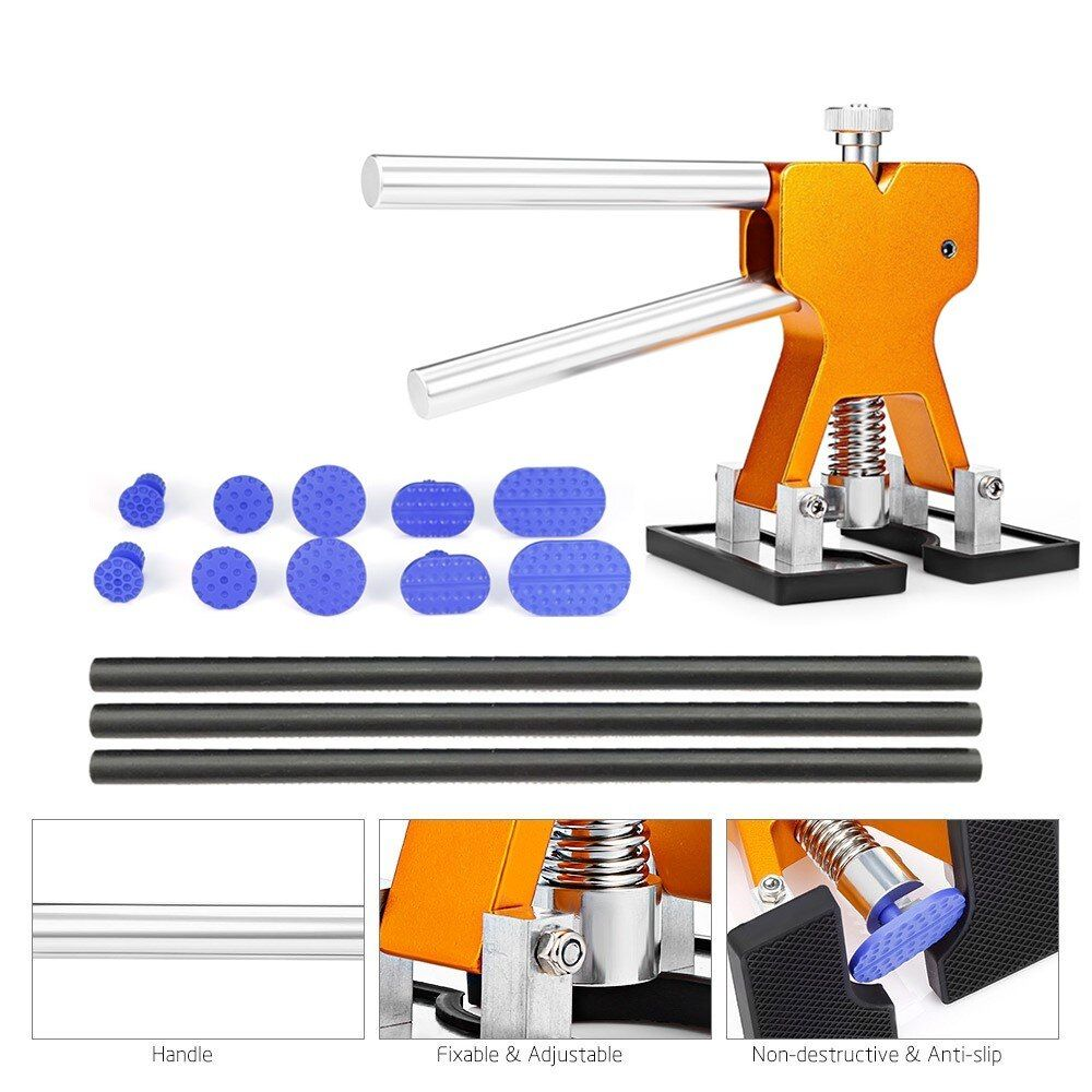 PDR Tools Car Paintless Dent Repair Tools Dent Removal Dent Puller Tabs Dent Lifter Hand Tool Set