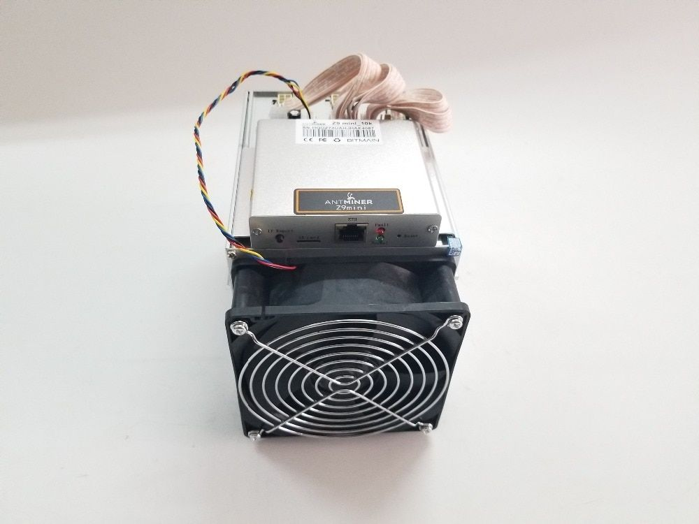 Ship in 24 hours BITMAIN Antminer Z9 Mini 10k Sol/s Equihash ZEN ZEC BTG Miner Better Profit Than S9 S9i S9j WhatsMiner M3 M10