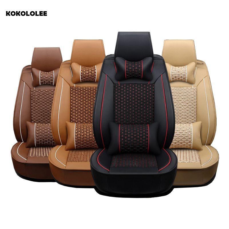 KOKOLOLEE autositzbezüge für Toyota Lada Renault Audi Peugeot suzuki Autos Sitzbezüge bmw opel kia autositze protector