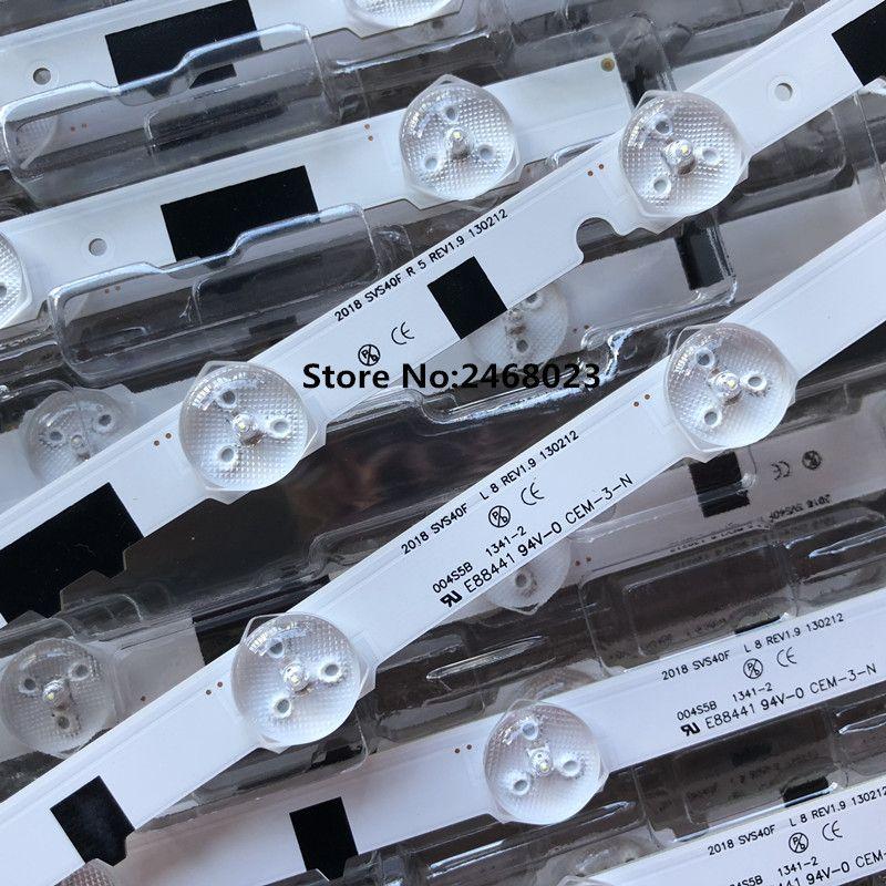New100 % 14 Stück (7R + 7L) UA40F5000ARXXR UA40F6300AJXXR LED streifen für SAM GESUNGENE 2013SVS40F L8 L5 D2GE-400SCA-R3 D2GE-400SCB-R3