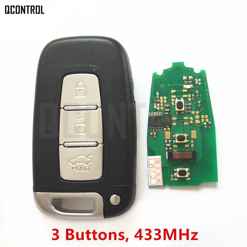 QCONTROL Car Remote Smart Key Suit for KIA Soul Sportage Sorento Mohave K2 K5 Rio Optima Forte Cerato