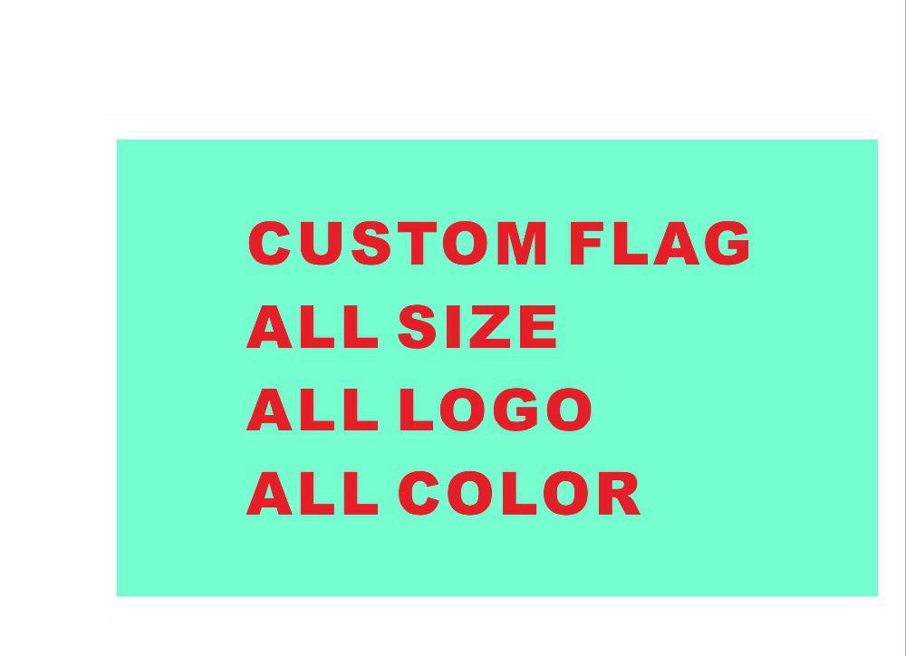 Benutzerdefinierte flagge 90*150 cm alle logo alle farbe royal flagge Mit Weißen Hülse Metall Gromets