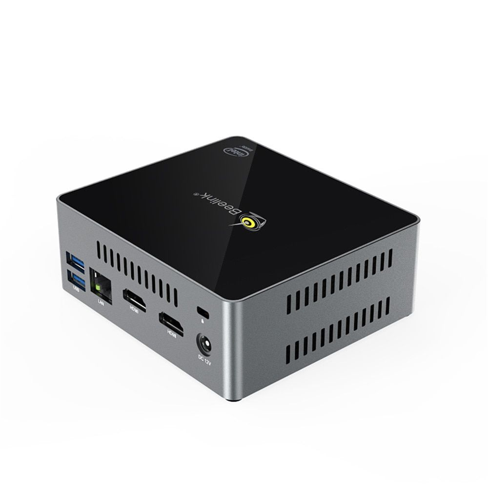 Beelink J45 Mini PC In Apollo See Pentium J4205 2,4 ghz + 5,8 ghz WiFi BT4.0 Ondersteuning 4 k HD PK X55 AP34 Pro