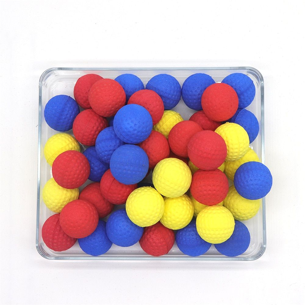 50Pcs Bullet Balls Rounds Compatible For Nerf Rival Apollo Child Toy Without Any Letter Parts For Nerf Toy Gun