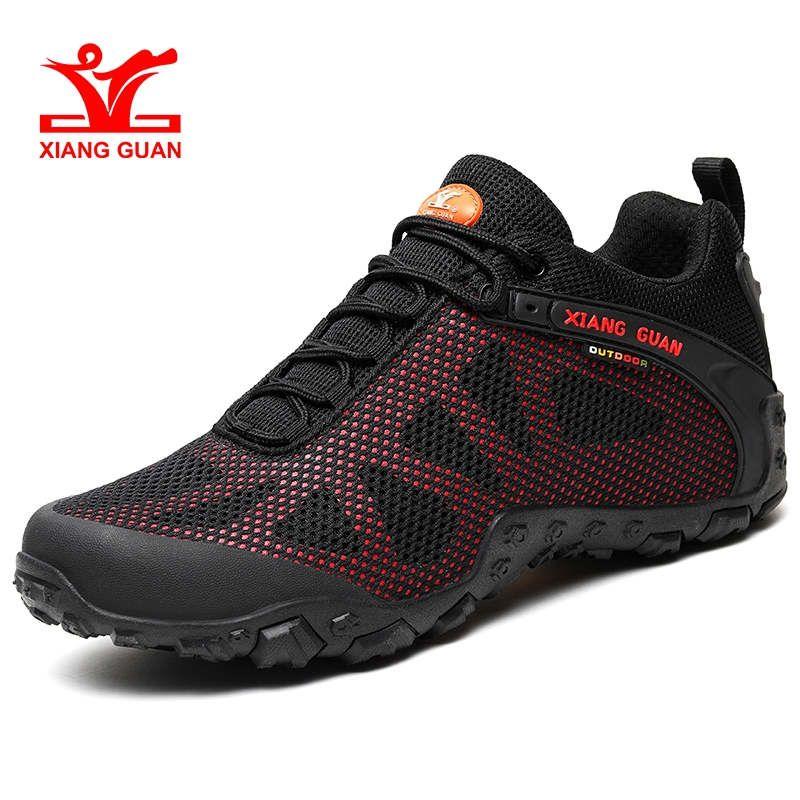 XIANG GUAN Outdoor Sport Schuhe Atmungsaktiv Wandern Schuhe Anti-Slip Trekking Bergsteigen Sneaker Neue Ankunft