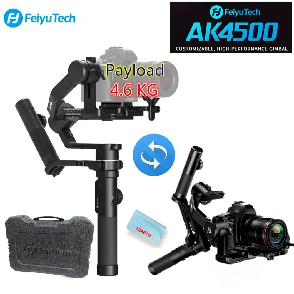 FeiyuTech AK4500 Kamera Stailizer 3-Achse Handheld Gimbal für Sony/Canon/Panasonic/Nikon, Nutzlast 10.14lb