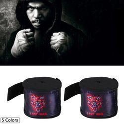 1 Para 5 Mt Einfarbig Sport Boxbandage Strap Sanda Muay Thai Kampf Boxhandschuhe Schutz Handgelenk Training Zubehör
