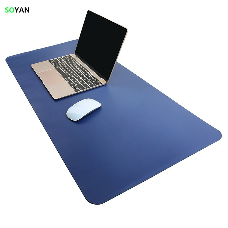 Mouse Pad Waterproof Extended Microfiber leather / Mat Large Office Writing Gaming Desk Computer leather Mat Mouse pad 80*<font><b>40cm</b></font>