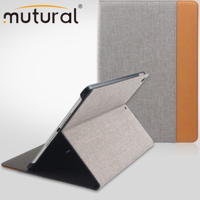 Mutural Abdeckung für iPad 5/6/7/8 Fall Weiche Rückseitige Auto Sleep/Wake Up intelligente Abdeckung Für IPad 5/6/7/8 9,7 Zoll Ultra Dünne Fall-abdeckung