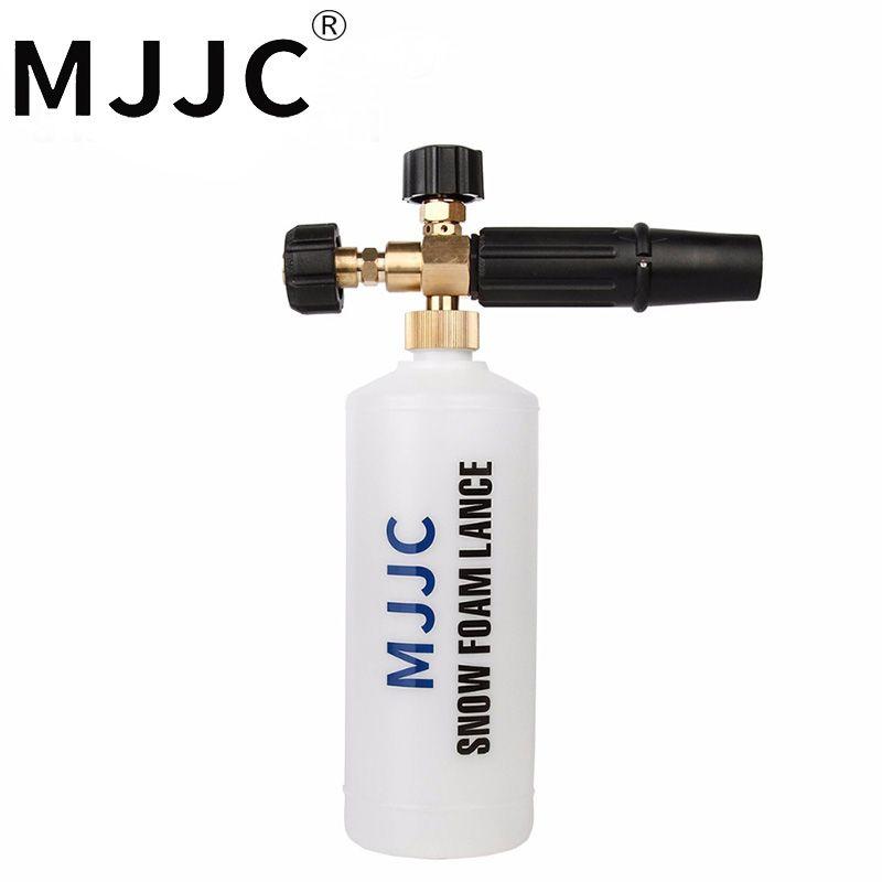 MJJC Marque 2017 Neige Mousse Lance pour Karcher HDS Pro Modèles, Karcher HD Modèle avec m22 Filetage Femelle Adaptateur avec Haute Qualité