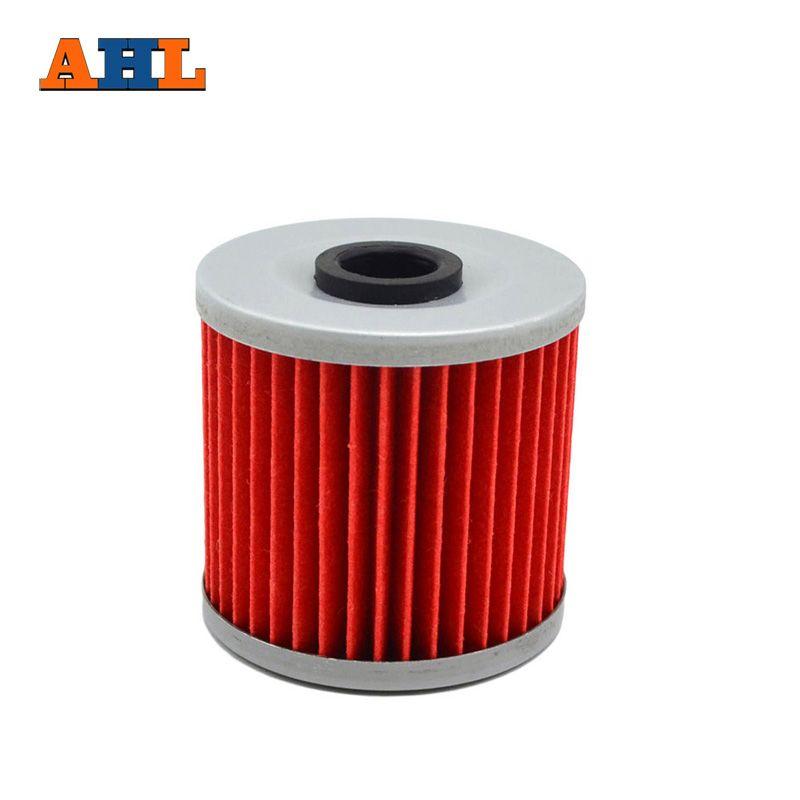 AHL 1pc High Performance Powersports Cartridge Oil Filter for KAWASAKI KLT250 KSF250 KLR650 KL600 KL 250 KZ 250 KL 650