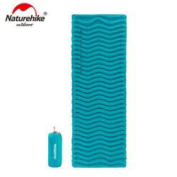 NatureHike Outdoor Ultralight Bentuk Gelombang TPU Inflatable Camping Mat Tidur Tahan Air Pad Piknik Kasur Lipat NH18C009-D