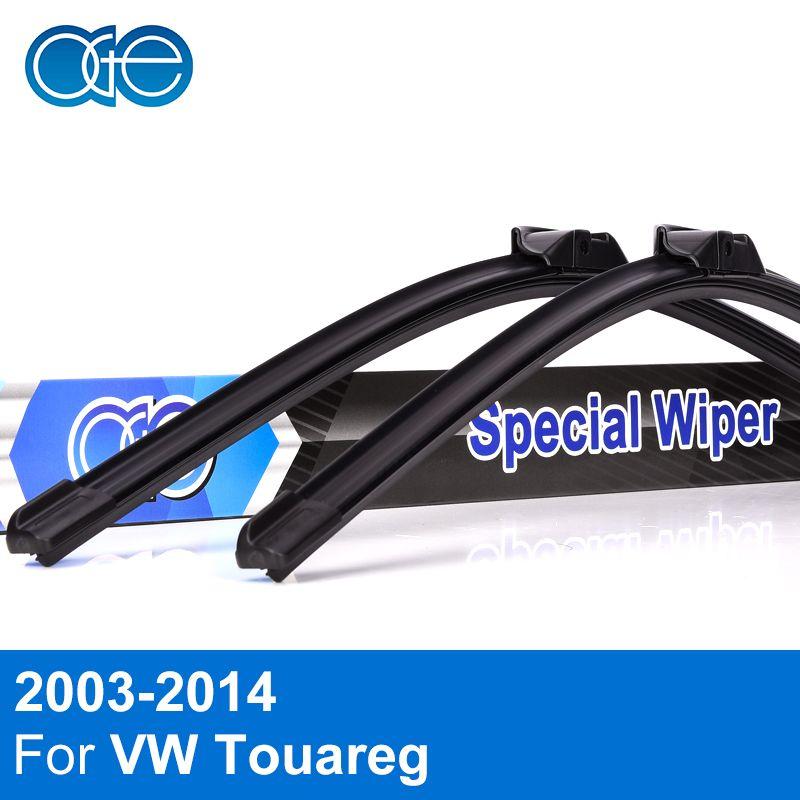 Oge Wiper Blades For VW Touareg 2003-2014 Windscreen <font><b>Windshield</b></font> Natural Rubber Car Accessories