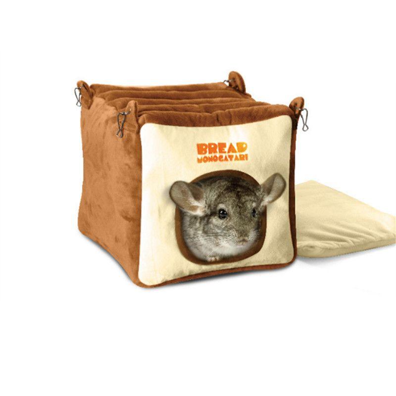 Produits pour animaux de compagnie Petit Animaux Cage Pain Style Hamster Écureuil Guinée Porc Chinchilla Martre D'hiver Grande Maison Petit Accessoires Pour Animaux