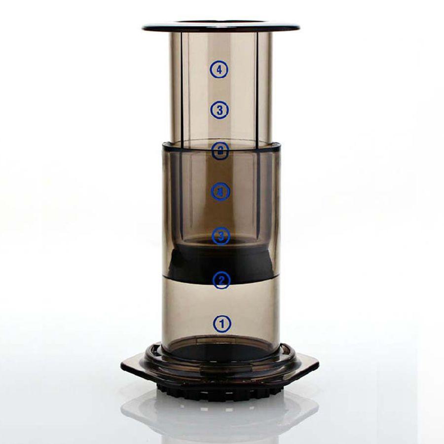 Mini Kaffee Maker Handheld Espresso Tragbare Kaffee Topf Espresso Filter 350 stücke Espresso Filter Papier Kaffee Maker